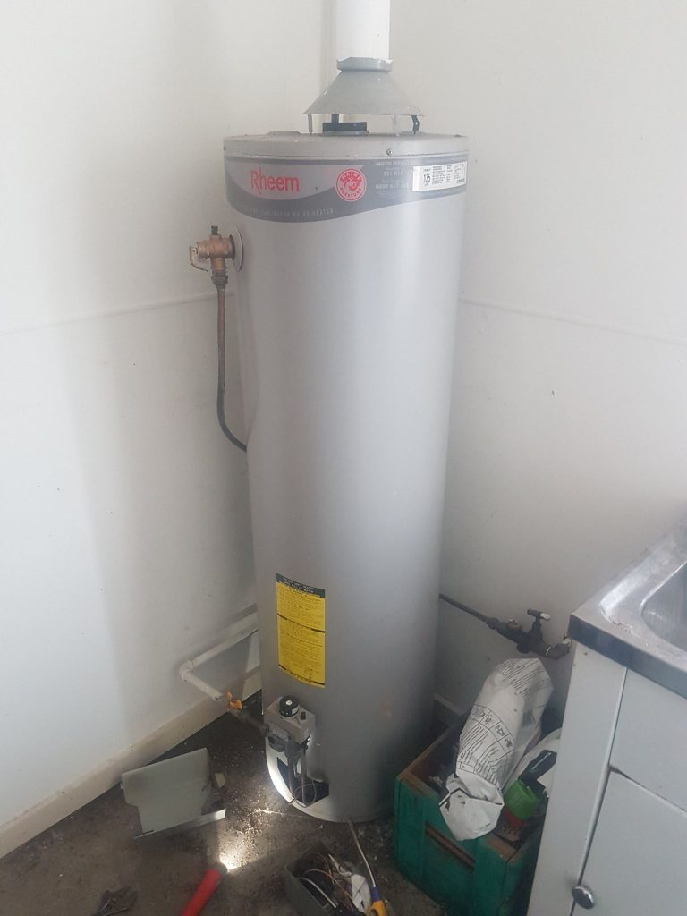 Hot Water Service Ascot Vale | Rheem internal gas hot water service | Finlay Plumbing
