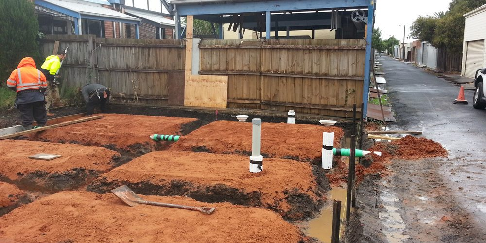 Pre Slab Drainage Williamstown | Finlay Plumbing